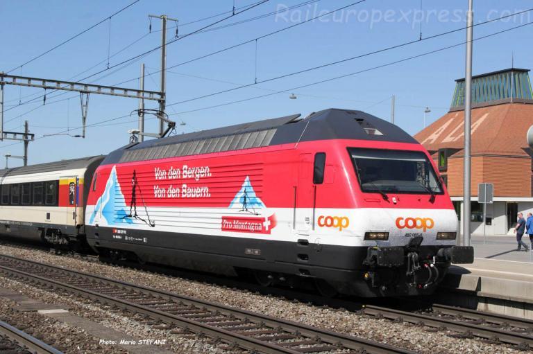 Re 460 065-6 CFF à Liestal (CH)