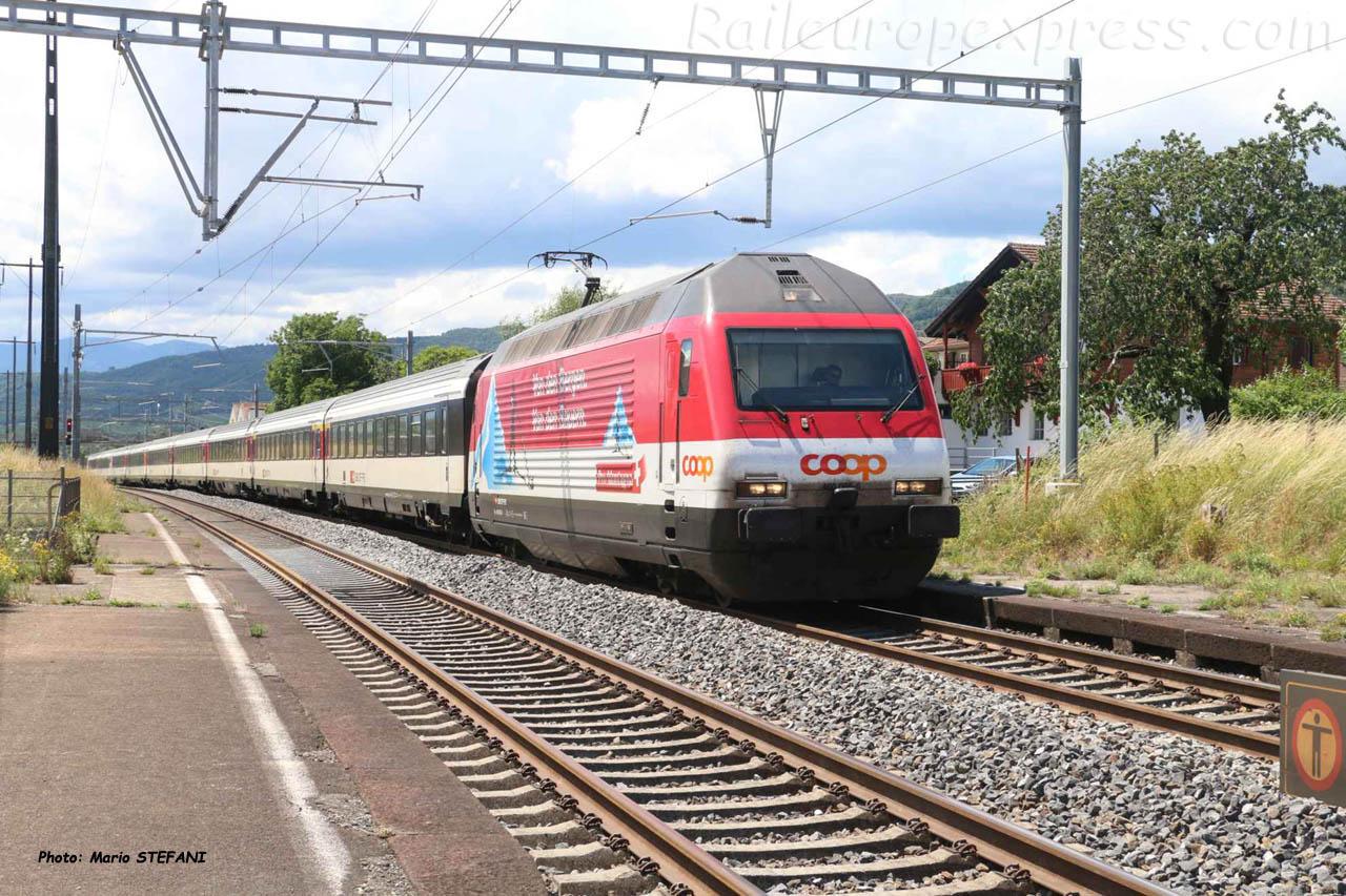 Re 460 065-6 CFF à Perroy (CH)