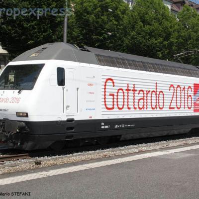 Re 460 098-7 CFF à Luzern (CH)