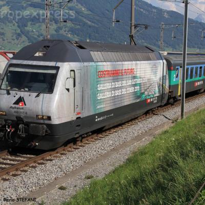 Re 460 107-6 CFF à Immensee (CH)