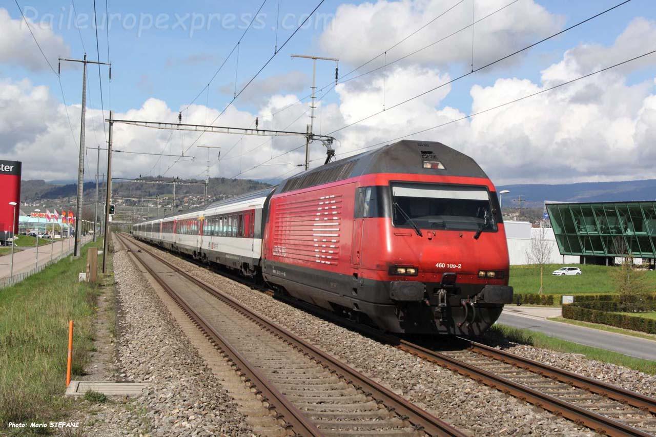 Re 460 109-2 CFF à Etoy (CH)