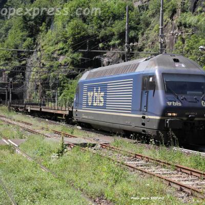 Re 465 007-3 BLS à Iselle (I)