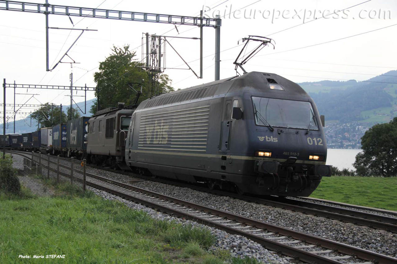 Re 465 012-3 BLS à Kumm (CH)