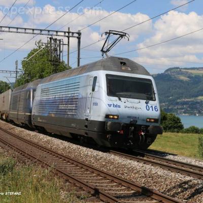 Re 465 016-4 BLS à Kumm (CH)