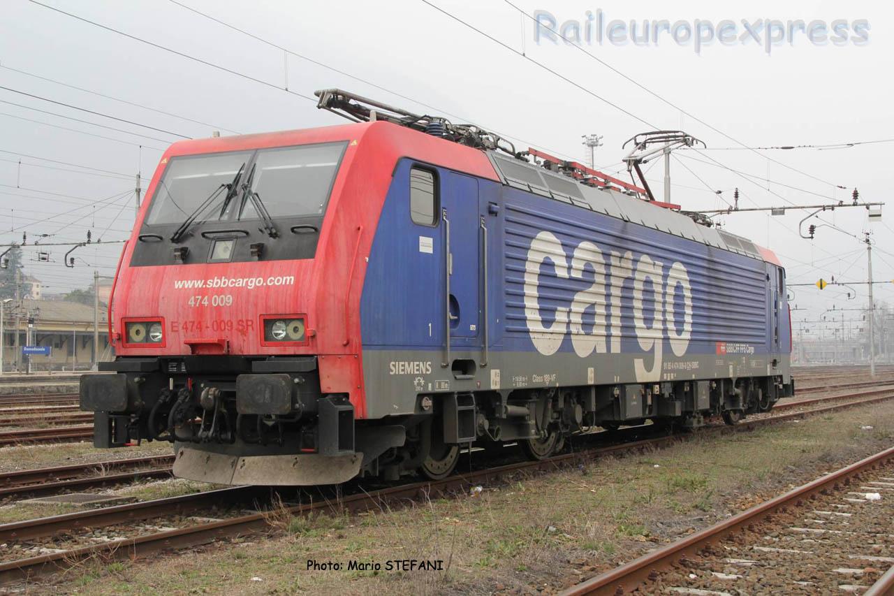 Re 474 009-8 CFF à Domodossola (I)
