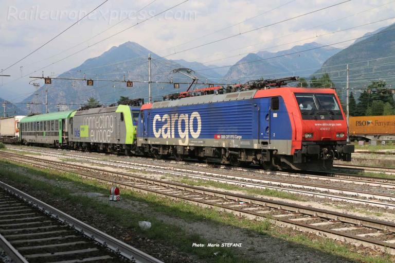 Re 474 017 CFF à Domodossola (I)
