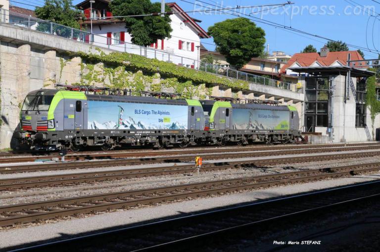 Re 475 403-2 BLS à Spiez (CH)