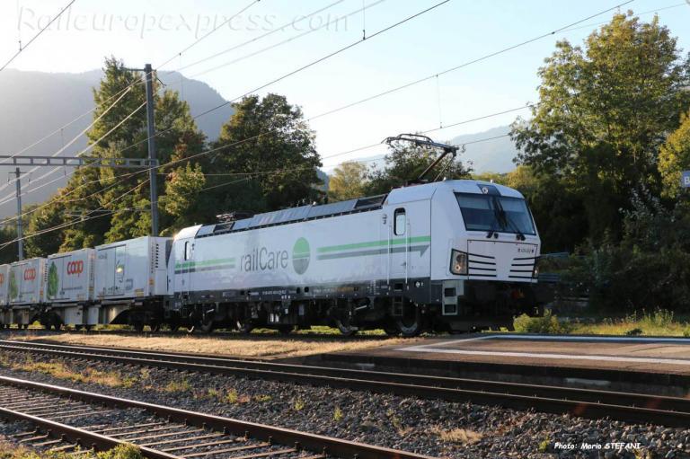 Re 476 452 CH RLC à Boudry (CH)