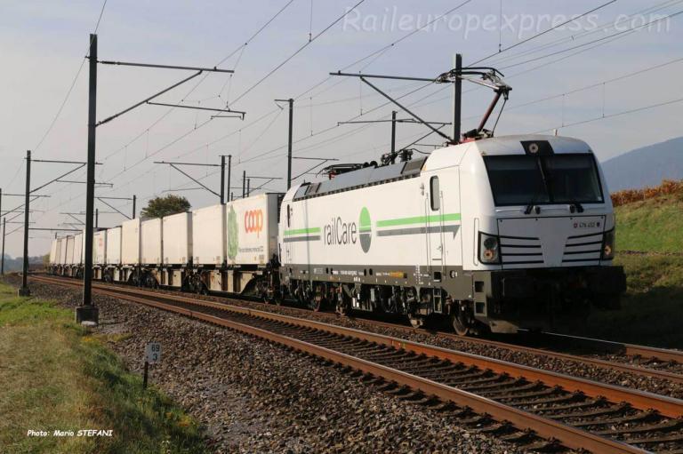 Re 476 452 RLC à Auvernier (CH)