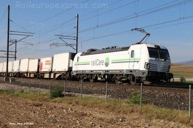 Re 476 452 RLC à Onnens (CH)