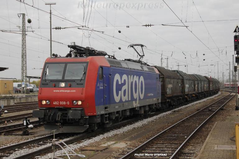 Re 482 008-0 CFF à Basel
