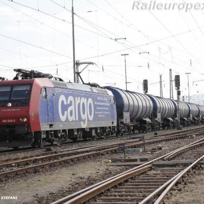 Re 482 009-8 CFF à Basel (CH)