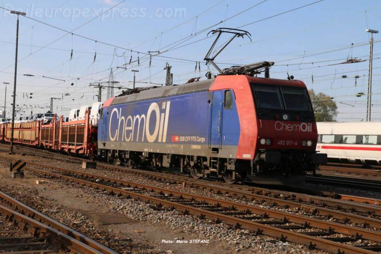 Re 482 011-4 CFF à Basel Bdf (CH)