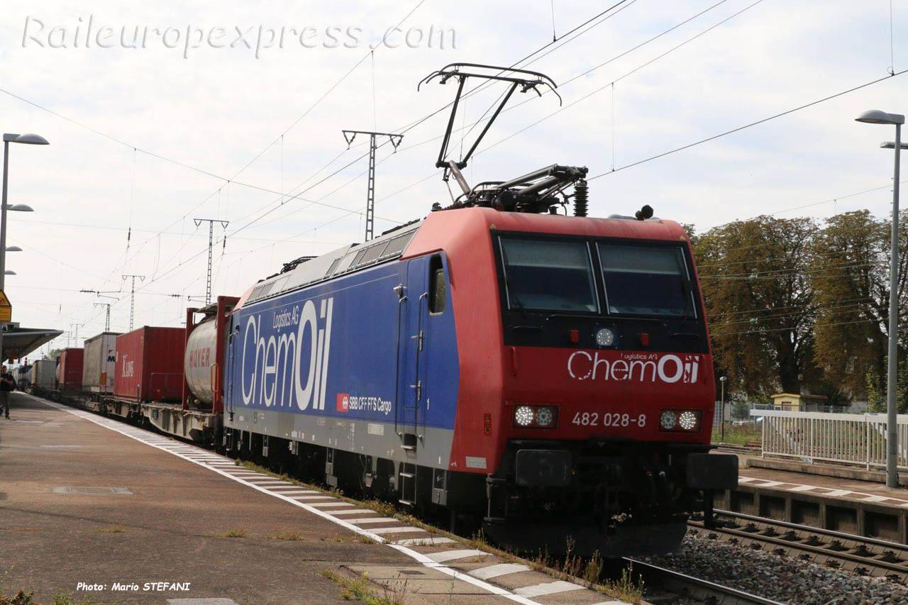 Re 482 028-8 CFF à Müllheim (D)