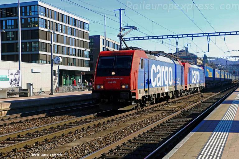 Re 484 004-7 CFF à Liestal (CH)
