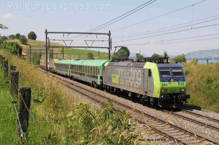 Re 485 012-9 BLS à Kumm (CH)
