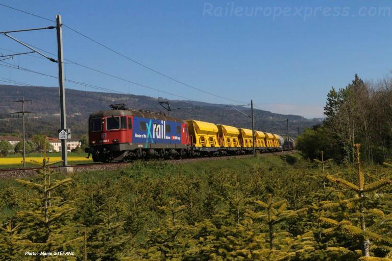 Re 520 088-5 CFF à Boudry (CH)