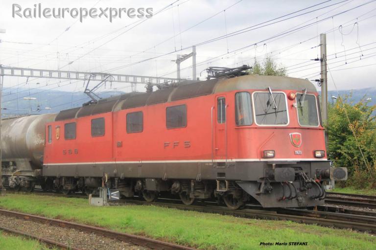 Re 6/6 11601 CFF à Yverdon (CH) 2