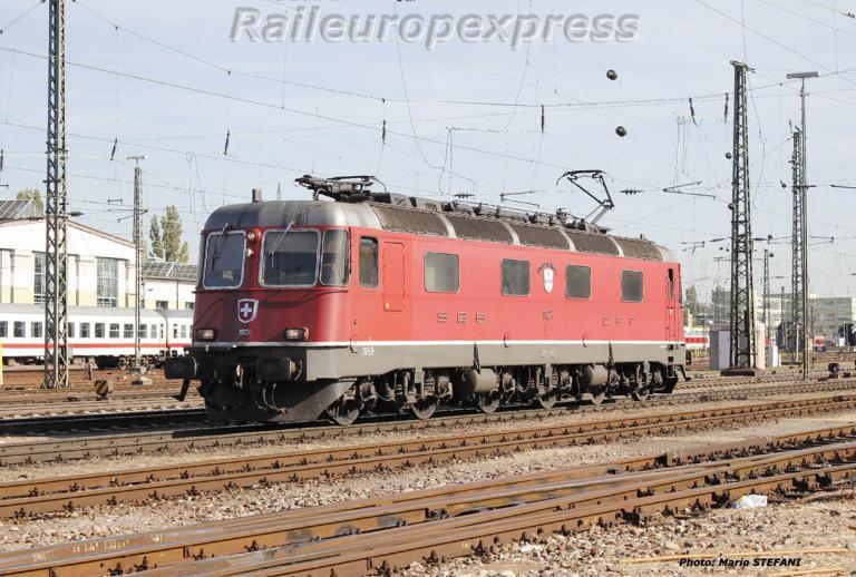 Re 6/6 11627 CFF à Basel
