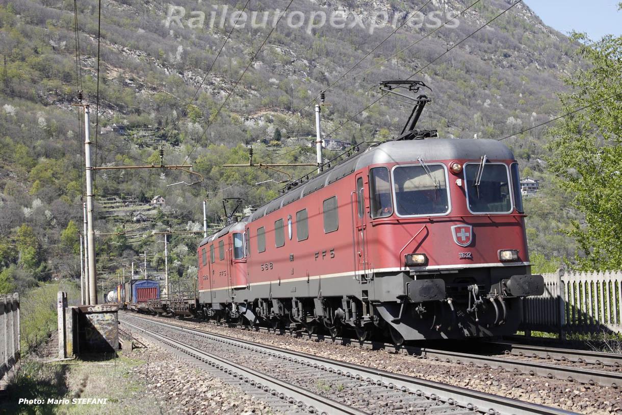 Re 6/6 11632 CFF à Domodossola