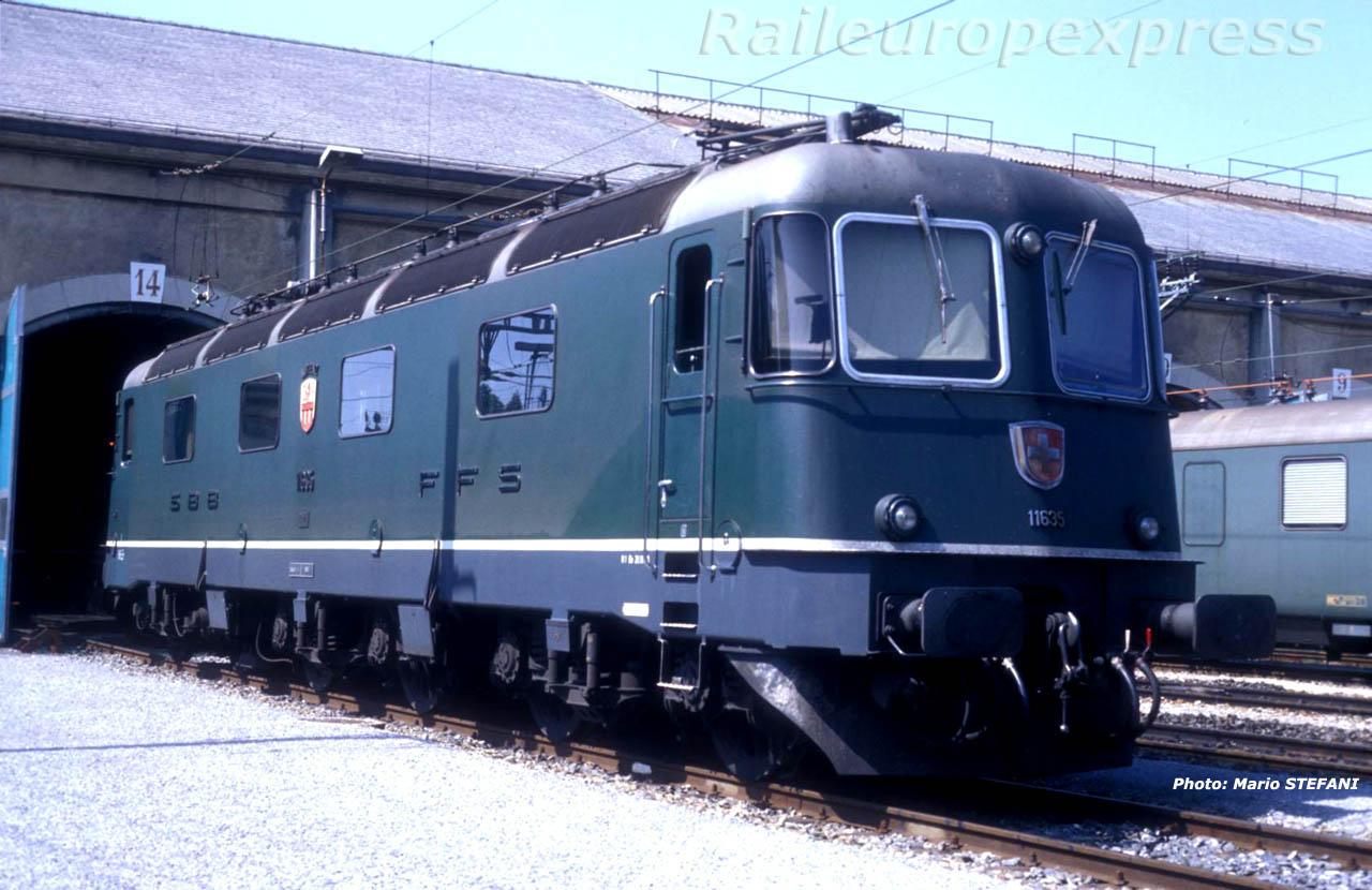 Re 6/6 11635 CFF à Bern