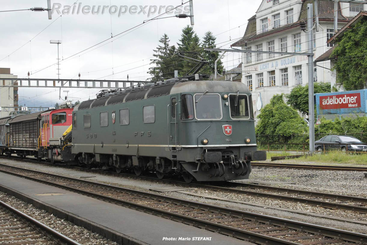 Re 6/6 11646 CFF à Arth-Goldau