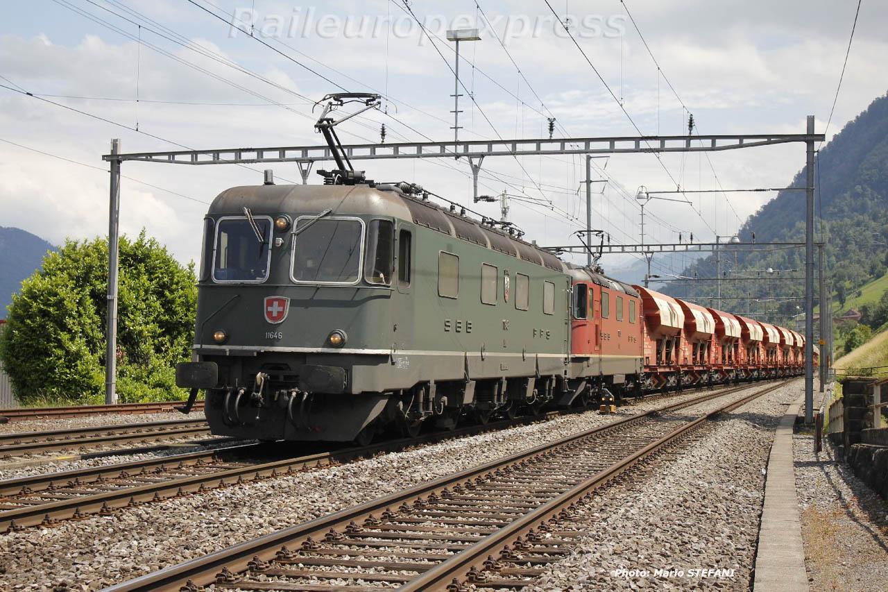Re 6/6 11646 CFF à Immensee