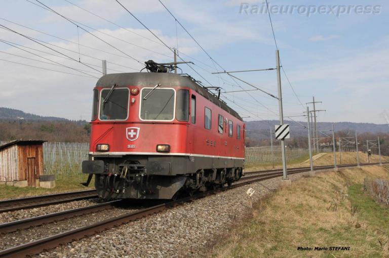 Re 6/6 11689 CFF à Boudry (CH)