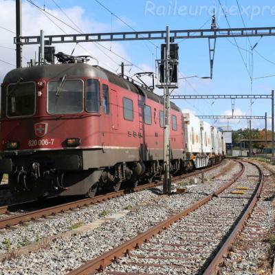 Re 620 006-7 CFF à Boudry (CH)