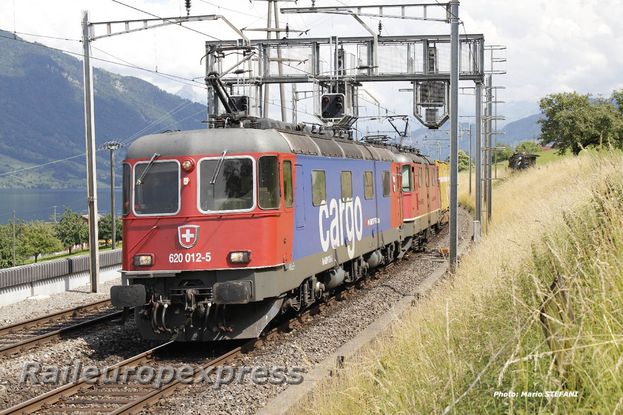 Re 620 012-5 CFF à Immensee