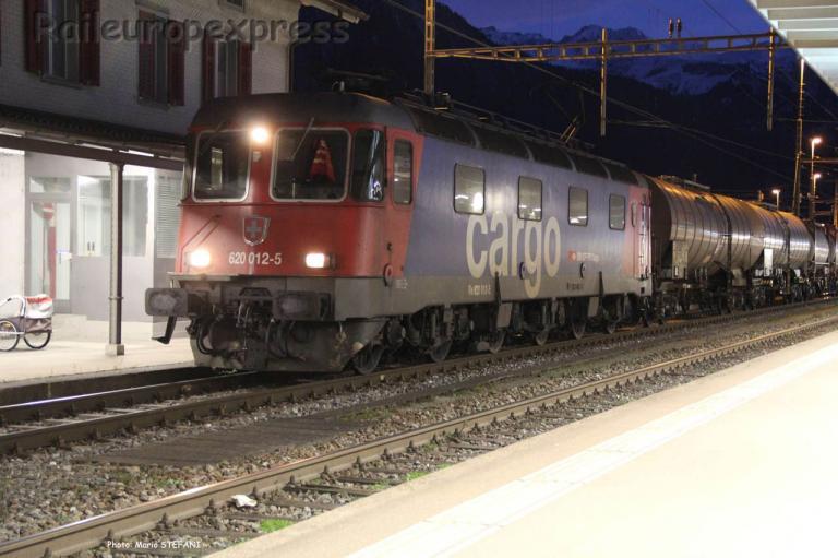 Re 620 012-5 CFF à Landquart (CH)