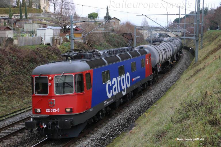 Re 620 013-3 CFF à Boudry (CH)
