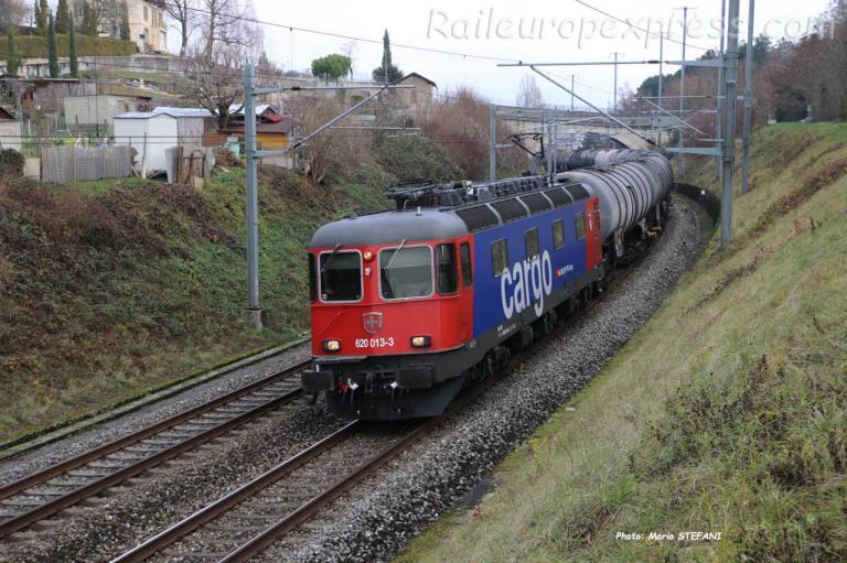 Re 620 013-3 CFF à Boudry Planeyse  (CH)