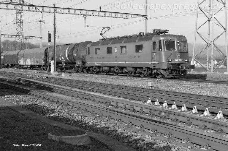 Re 620 018-2 CFF à Henschiken (CH)