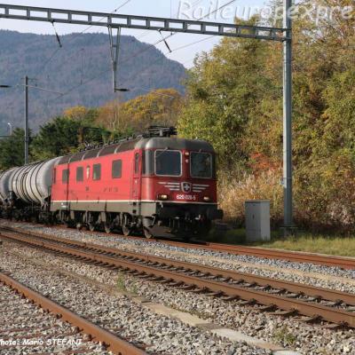 Re 620 026-5 CFF à Boudry (CH)