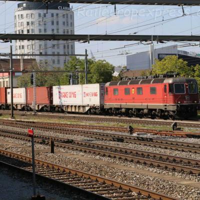 Re 620 031-5 CFF à Pratteln (CH)
