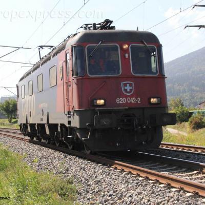 Re 620 042-2 CFF à Boudry (CH)