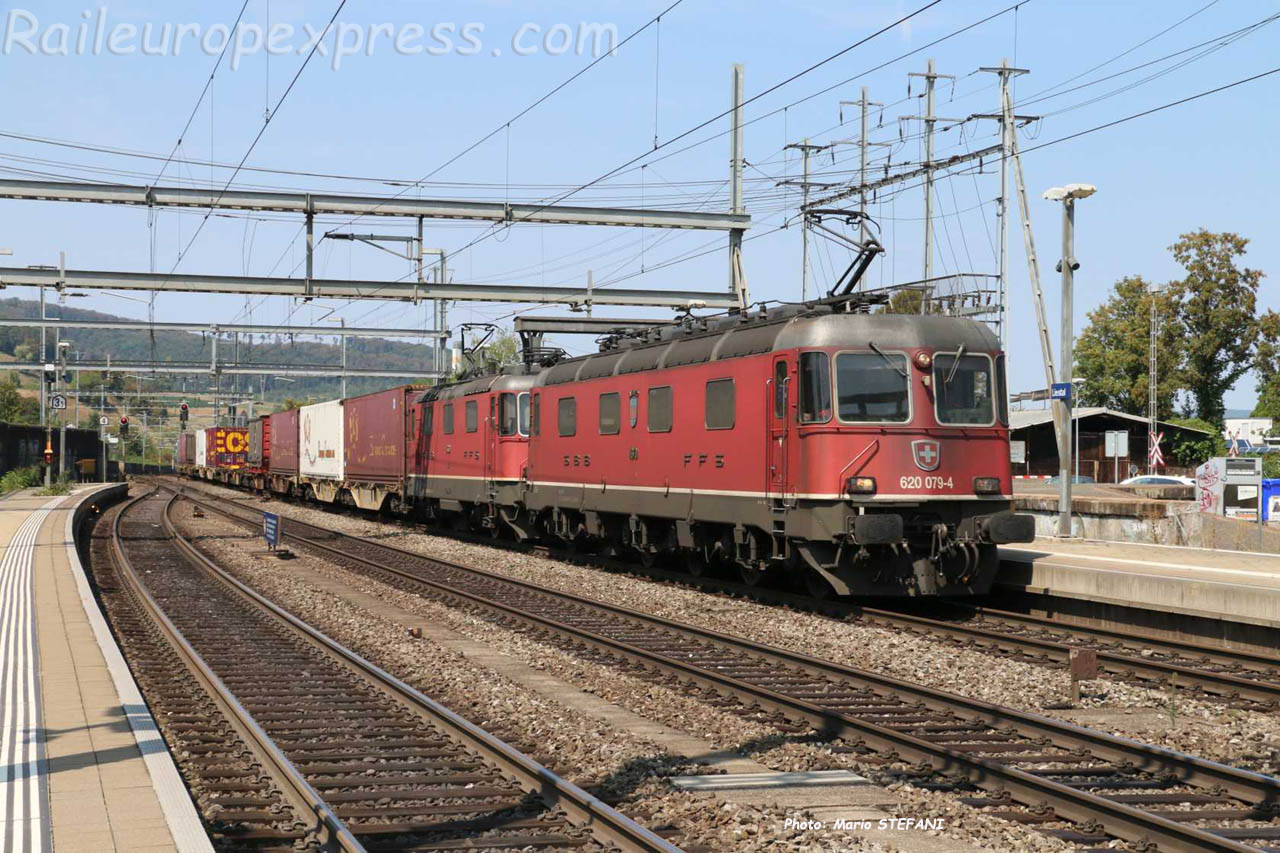 Re 620 049-4 CFF à Liestal (CH)