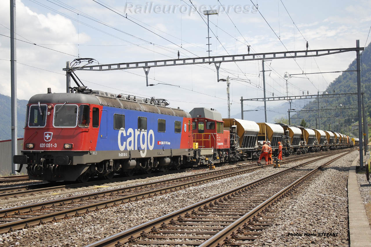 Re 620 051-3 CFF à Immensee (CH)