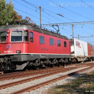 Re 620 056-2 CFF à Boudry (CH)