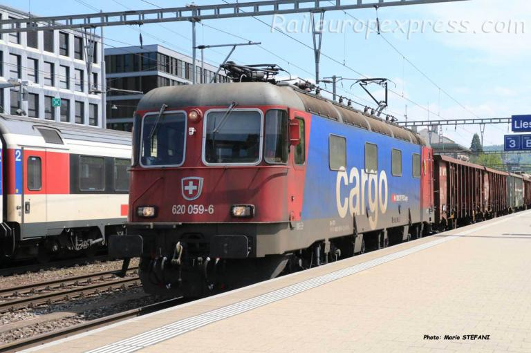Re 620 059-6 CFF à Liestal (CH)