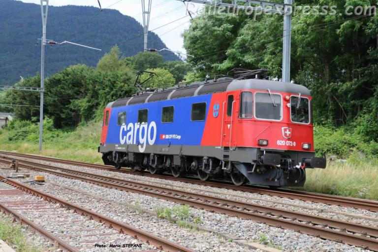 Re 620 072 9 CFF à Boudry (CH)