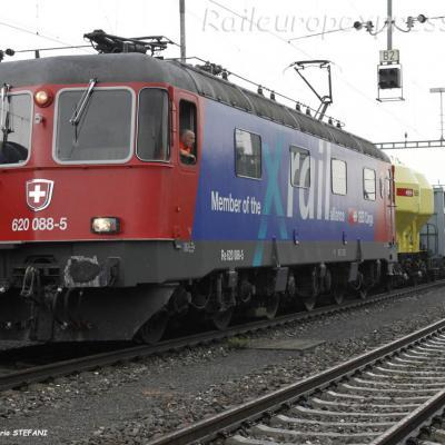 Re 620 088-5 CFF à Cornaux (CH)