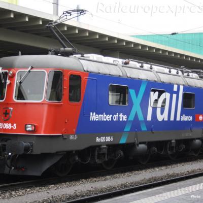 Re 620 088-5 CFF à Zürich CH