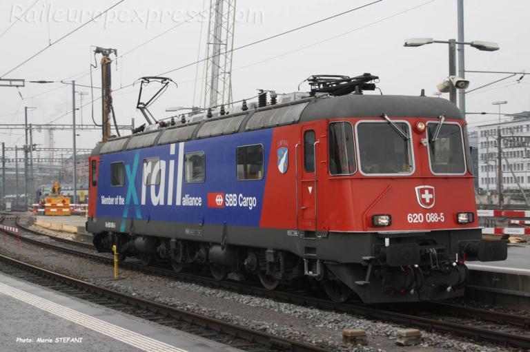 Re 620 088-5 CFF à Zürich (CH)