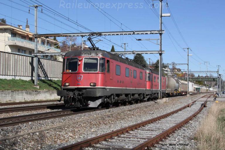 Re 6/6 11629 CFF à Auvernier (CH)