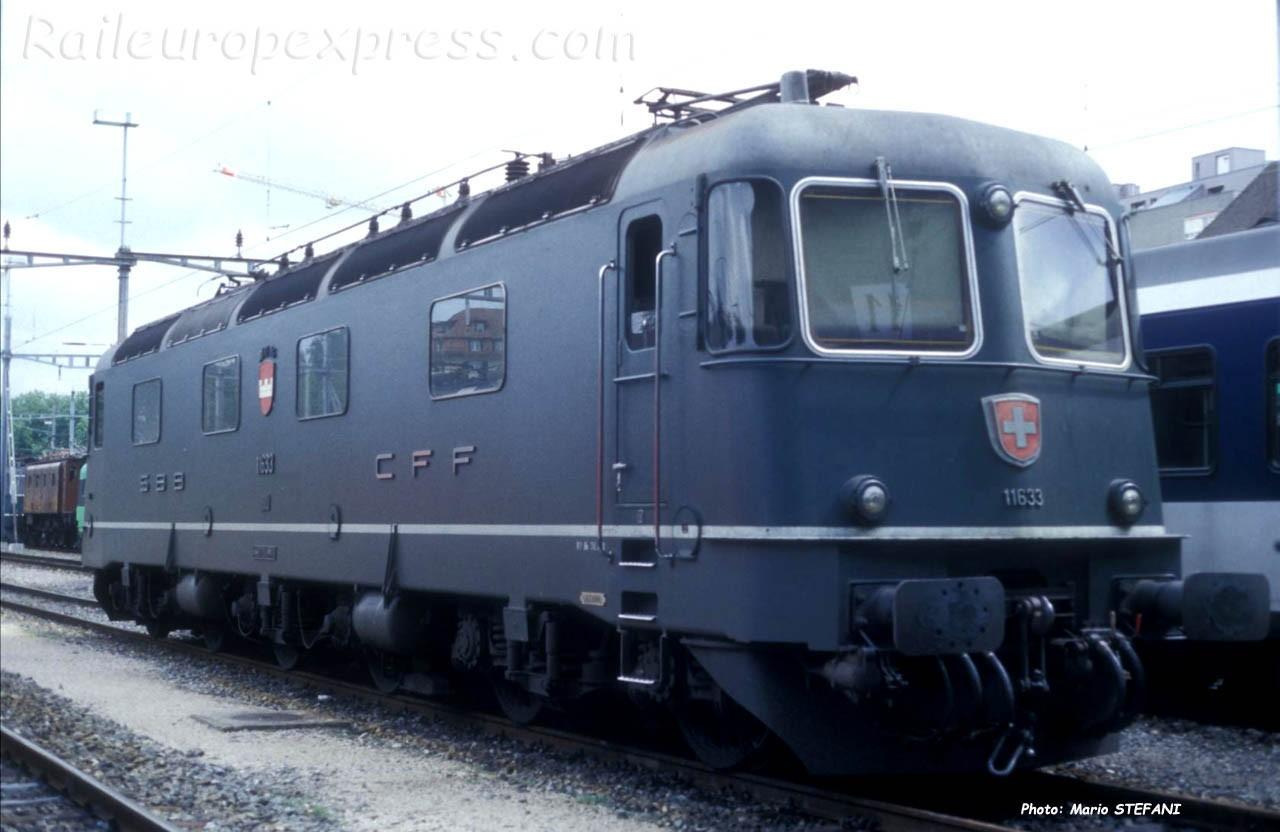 Re 6/6 11633 CFF à Bern (CH)