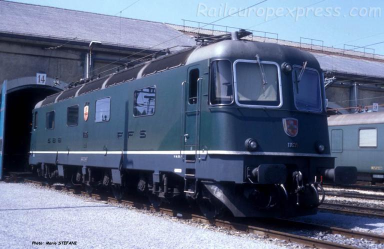 Re 6/6 11635 CFF à Bern (CH)