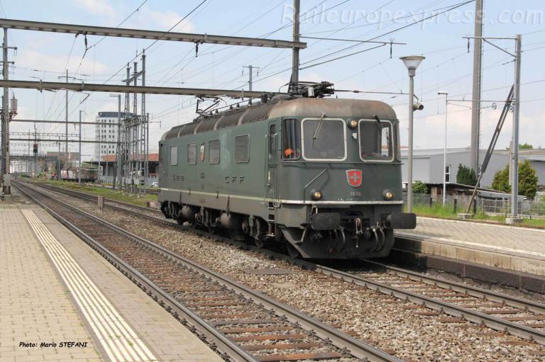 Re 6/6 11646 CFF à Pratteln (CH)