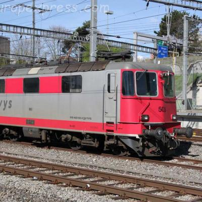 Re 91 85 4420 503-8 Travys à Morges (CH)